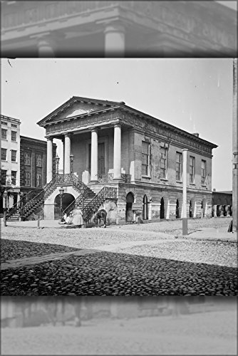 24x36 Poster; Charleston, S.C. The Old Market House (188 Meeting Street) - Market Street Charleston