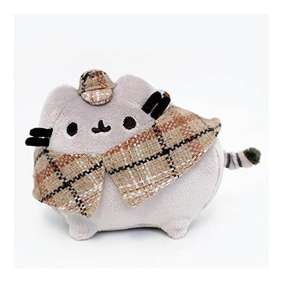 Pusheen Detective Plush   Bag Clip - 4.5 Inches 3