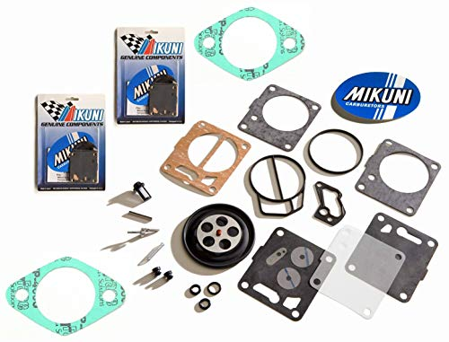 Carb Gasket Kit - Seadoo GTX GSX Genuine Mikuni Twin Carb Carburetor Rebuild Kit & Base Gaskets