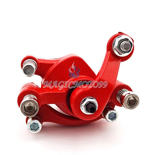 (Front Disc Brake Caliper For 33cc 43cc 49cc 50cc Gas Goped Stand Up Scooter)