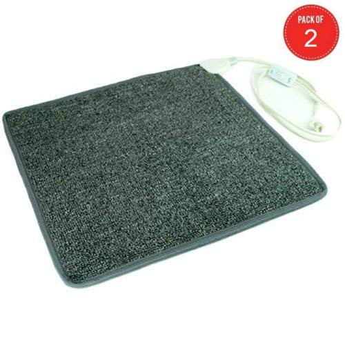 Cozy Products CT Toes Carpeted Foot Warming Heater for Under Desks and More (Pack of 2)
