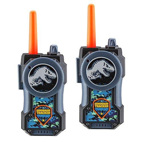 Jurassic World Fallen Kingdom FRS Walkie Talkies for Kids Long Range Static Free Kid Friendly Easy to Use 2 Way Walkie Talkies (Standard Packaging)