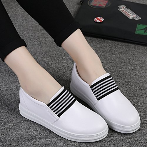 loafers femme lacet autobloquant toile Mocassin respirant basket chaussure mode 51wvdnnqx
