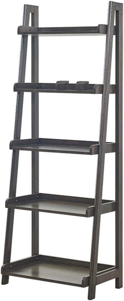 Estantería Los estantes de almacenamiento bookrack 5 Estante Biblioteca Multifuncional de escalera en forma de bastidor soporte de flor de la planta Adecuado para Ministerio del Interior y: Amazon.es: Hogar