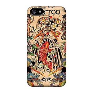 High-quality Durability Case For Iphone 5/5s(ed Hardy Japanese Tattoo)