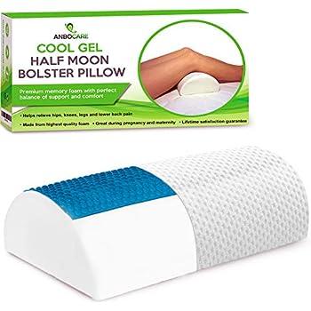 Amazon.com: Almohada de media luna con espuma viscoelástica ...