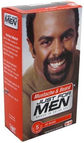 Just For Men - Tinte para barba, color negro: Amazon.es: Belleza
