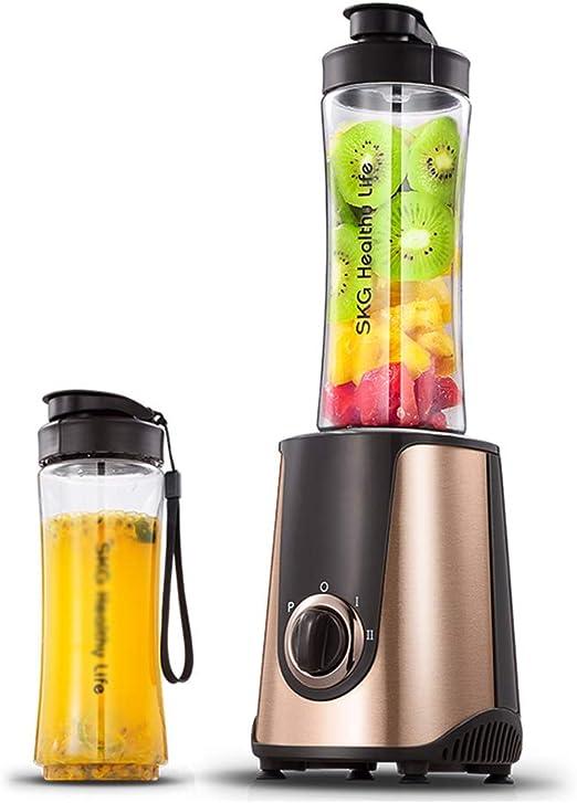 Exprimidores eléctricos Juicer pequeño portátil máquina de Zumo de Frutas y Verduras casera automática Licuadora ...