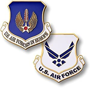U.S. Air Forces in Europe Enamel