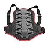 Breathable Back Protector Back Piece Sports Bike Motorcycle Motocross Racing Skiing Body Armor Skating Jackets M Size