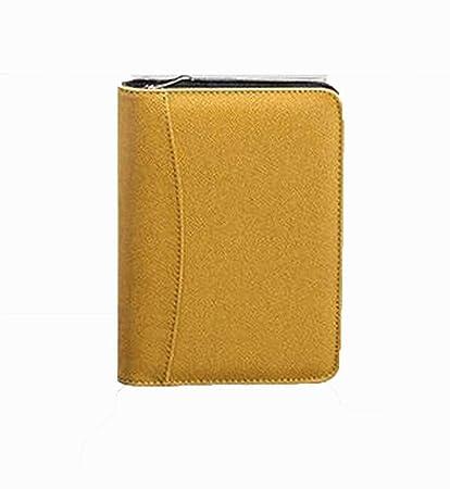 YWHY Cuaderno A5 Cuaderno De Cuero Dairy Planner Organizador ...