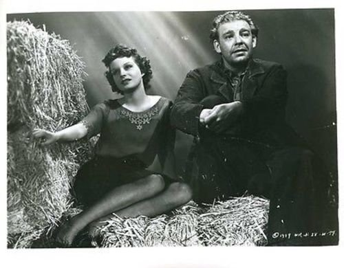 Lon Chaney Jr. Betty Field Of Mice And Man 8x10