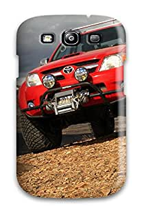 Agor F. Family's Shop Christmas Gifts Galaxy Cover Case - 2010 Toyota Hilux Protective Case Compatibel With Galaxy S3