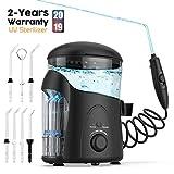 Cordless Water Flosser Oral Irrigator Dental Flosser Teeth Cleaner, Water Flosser Cordless USB Rechargeable Portable, Water Dental Flosser for Braces Shower Kids