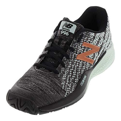 New Balance Women's 996v3 Hard Court Tennis Shoe, Seafoam Green, 8.5 B US