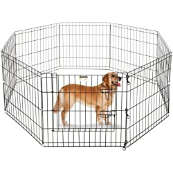 "Pet Trex 24"" Playpen for Dogs Eight 24"" Wide x 24"" High Panels"