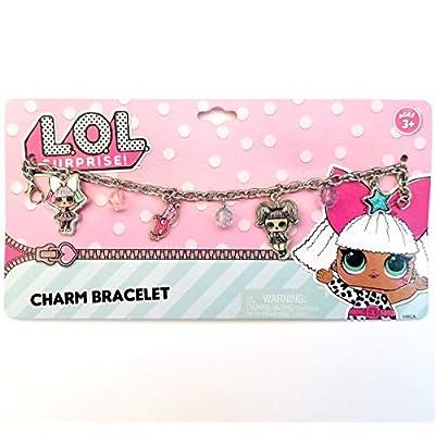 Pink LOL Doll Metal Charm Bracelet for Gift Party Favors etc (Pink LOL Doll (Metal)): Arts, Crafts & Sewing