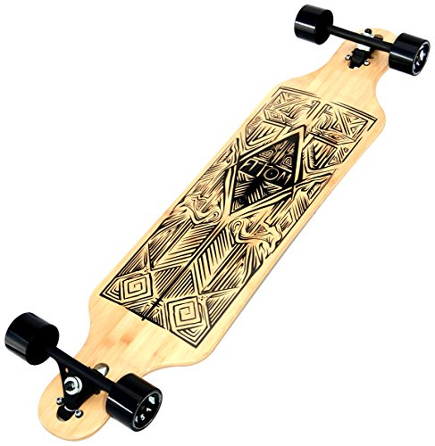 Atom Drop Through Longboard (40 Inch) (Pintail Loaded Longboard)