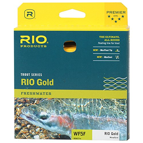 Rio Products Fly Line Wf7F Moss/Gold