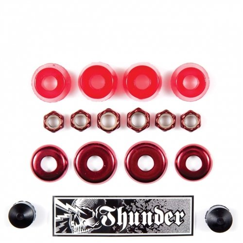 (Thunder Rebuild Kit Bushings Cups Washers Red 90duro)