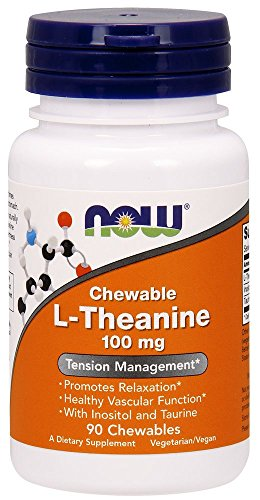 NOW L Theanine 90 Chewables
