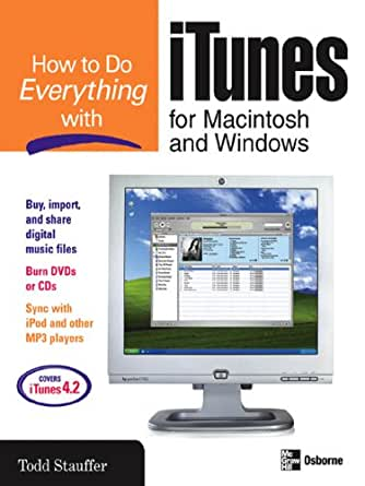 amazon   how to do everything with itunes for macintosh