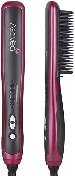best heated hair straightening brush for thick hair
