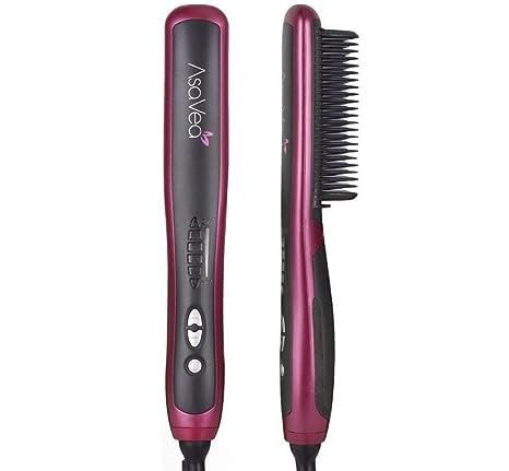 AsaVea Hair Straightening Brush 2 b29da6f603a9