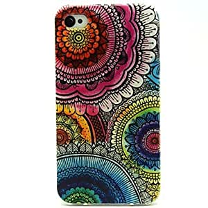 ZXC iPhone 4/4S/iPhone 4 compatible Graphic/Mixed Color/Cartoon/Special Design/Other/Novelty/Anime Back Cover