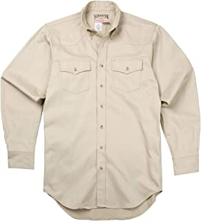 product image for Schaefer Outfitters Ranchstone Twill Western Shirt