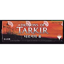 Magic the Gathering Dragons of Tarkir Korean Language Booster Box (36 Packs / 540 Cards)