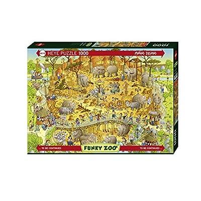 Heye 29639 Habitat Africano Puzzle 1000 Pezzi