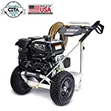 SIMPSON Cleaning ALK4033 Aluminum Gas Pressure Washer Powered by Honda GX270 4000 PSI, at 3.5 GPM