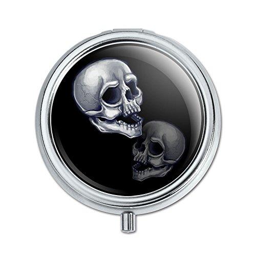 Skulls Death Pill Case Trinket