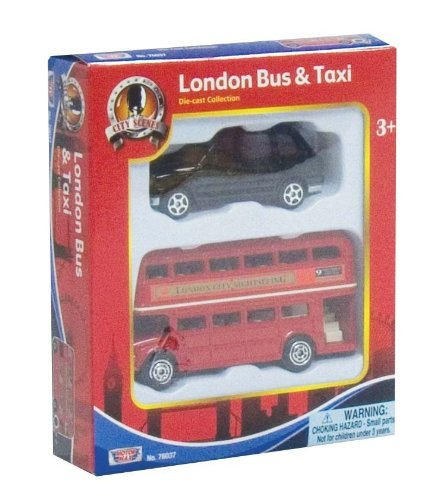 Richard Nickel Committee British Street Scenes Richmond Toys London Bus and Taxi Set ()