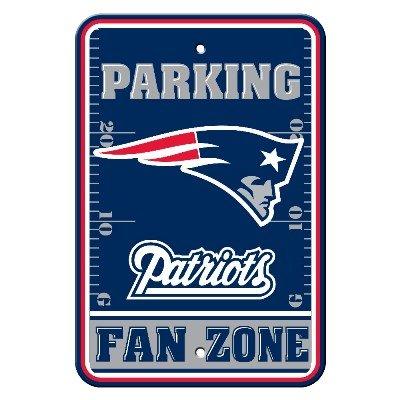 New England Patriots Plastic Parking Sign - Fan Zone New England Patriots Plastic Parking Sign - Fa ()