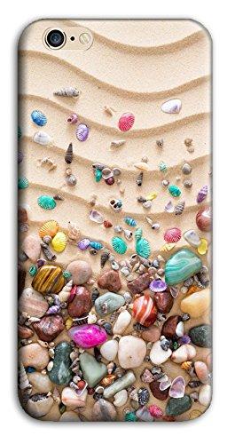 Mixroom - Cover Custodia Case In TPU Silicone Morbida Per Apple Iphone 5 5s M3518 Sassolini Di Mare Colorati