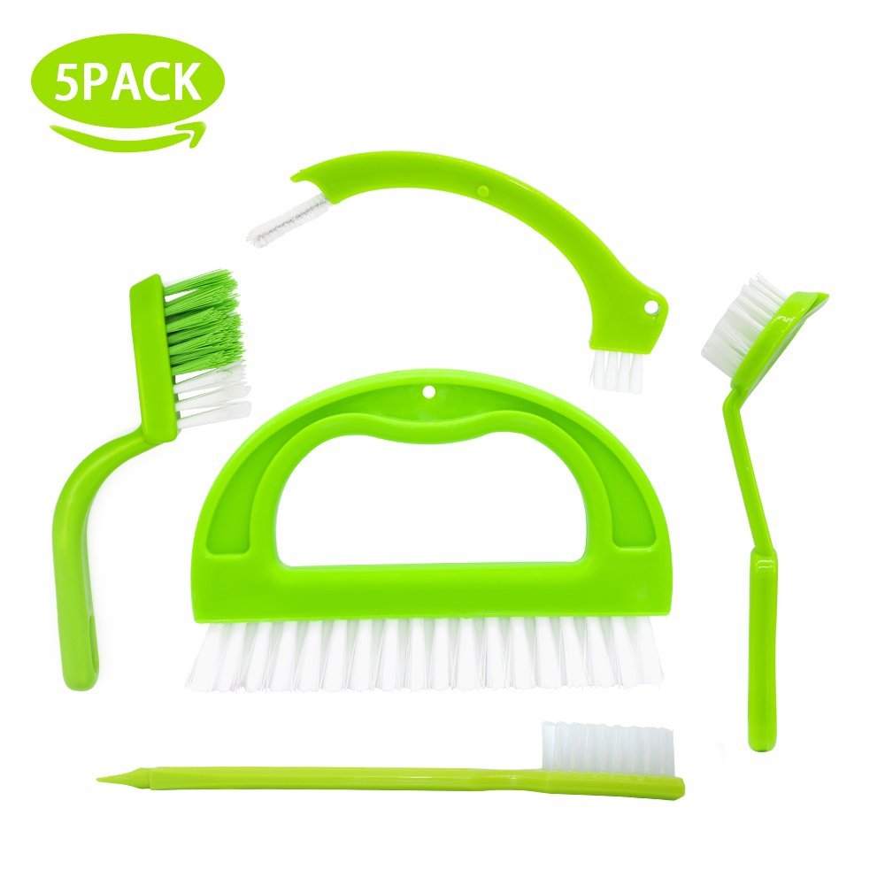 Ulihome Grout Cleaner Brush - 5 Pack Tile Joint Brushes Grout ...