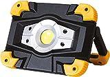 FLOOD-IT TKOM10 Portable Light 10W 3-6 Hr Battery Omni, Black