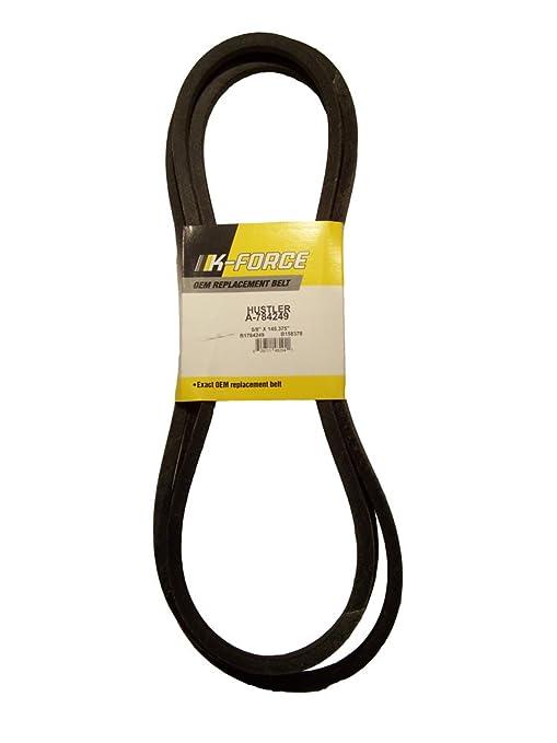 Hustler - montar chapeadora cubierta cinturón de Kevlar - a-784249 ...