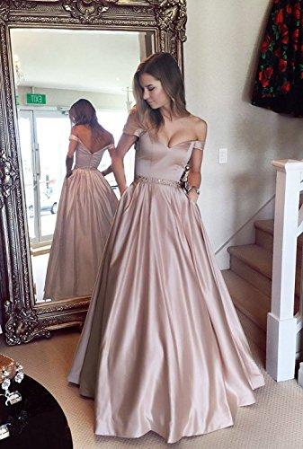 Hochzeit Abendkleider Lang mit Cocktailkleider Elegant Burgund Damen für Callmelady Ballkleider Taschen CfqHw