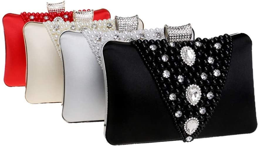 Amyannie Party Clutch Bag Evening Bag Clutch Purse Party Wedding Prom Sparkling Evening Bag