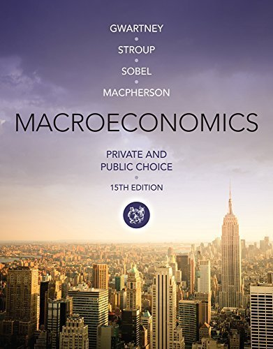 Macroeconomics: Private and Public Choice by Gwartney, James D., Stroup, Richard L., Sobel, Russell S., M (2014) Paperback