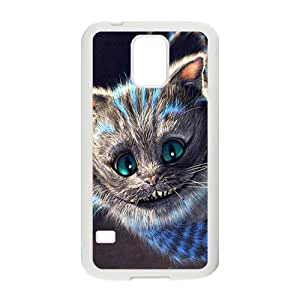 SANLSI Alice In Wonderland Case Cover For samsung galaxy S5 Case