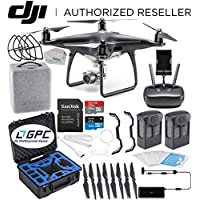 DJI Phantom 4 PRO Obsidian Edition Drone Quadcopter (Black) Rugged Essential Bundle