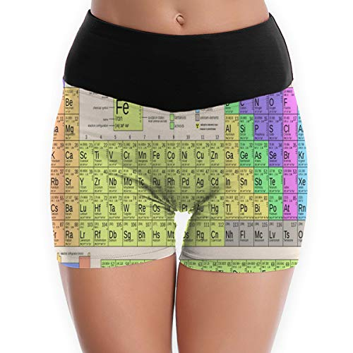 - Compression Shorts Periodic Table's Heaviest Elements High Waist Yoga Shorts Ultra Fight Shorts