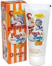 Punch & Judy Children's Toothpaste - Orangey 50ml (Pack of 4)