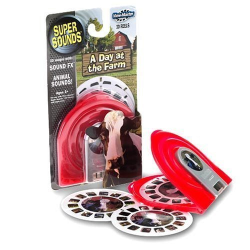 Discovery Channel - A Day at the Farm - 3D View-Master Reels with Sounds