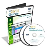 HTML 5 Web Design Tutorial Training Course on 2 DVDs