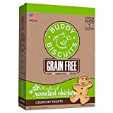 Buddy Biscuits Grain Free Dog Treats Made in USA, ...